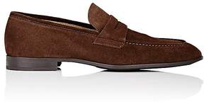 Barneys New York Men's Apron-Toe Penny Loafers