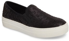 Steve Madden Women's Gills Sequined Slip-On Platform Sneaker