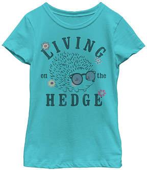 Fifth Sun Tahiti Blue 'Living On The Hedge' Tee - Girls