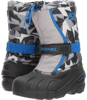 Sorel Flurry Print Boys Shoes