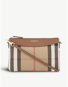 Burberry Peyton cross-body bag - SADDLE BROWN - STYLE