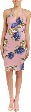Blvd Floral Sheath Dress