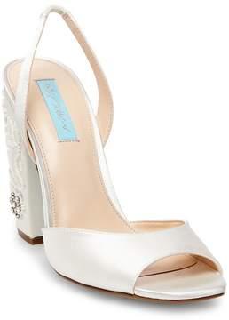 Betsey Johnson Vivi Embellished Block Heel Sandal
