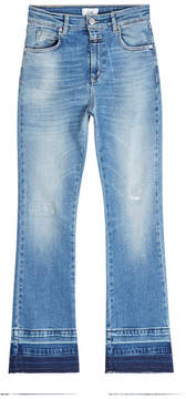 Closed Cropped Flare Jeans