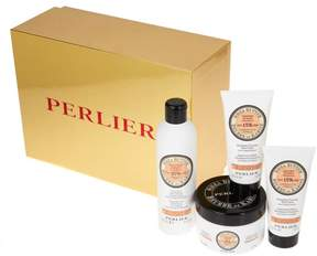 Perlier Shea Tuberose 4-piece Kit with Gift Box