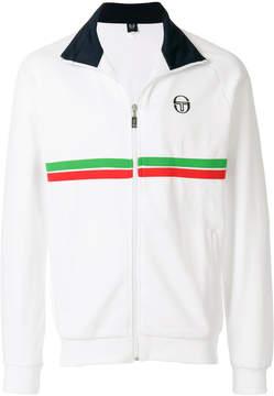 Sergio Tacchini zipped colour-block sweatshirt