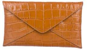 Michael Kors Embossed Envelope Clutch - ANIMAL PRINT - STYLE