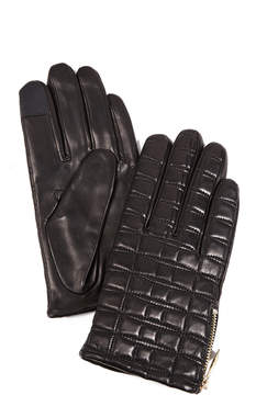 Kate Spade Bow Quilted Tech Gloves