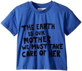 Mini Rodini Mother Earth Short Sleeve T-Shirt Kid's T Shirt
