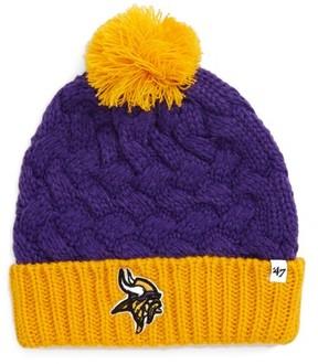 '47 Women's Matterhorn Minnesota Vikings Pom Beanie - Purple
