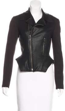 Tahari Moto Zip-Up Jacket