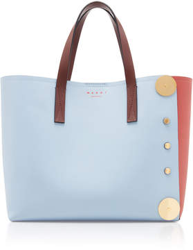 Marni Punch Museo Leather Tote