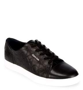 Calvin Klein Imilia Lace-Up Leather Sneakers