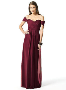 Dessy Collection 2844 Dress In Burgundy