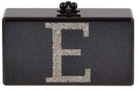 Edie Parker Jean Initial Acrylic Clutch