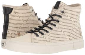 Frye Ludlow High - Canvas Print Men's Lace up casual Shoes