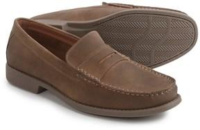 Izod Edmund Penny Loafers - Vegan Leather (For Men)