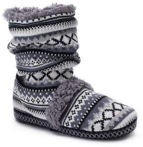 Muk Luks Women's Scrunchy Boot Slippers