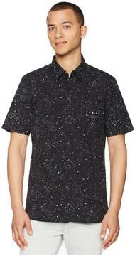 Hurley Destroyer Short Sleeve Woven Men's Clothing