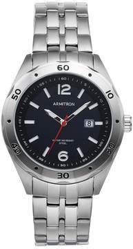 DAY Birger et Mikkelsen Armitron Men's Stainless Steel Solar Watch - 20/5253BKSV
