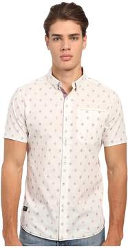 7 Diamonds Aztec Diamond Short Sleeve Shirt Men's Short Sleeve Button Up