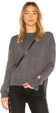 Alexander Wang Twisted Sleeve Sweater