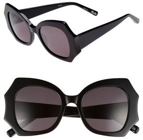 Elizabeth and James Women's Roslie 51Mm Butterfly Sunglasses - Black