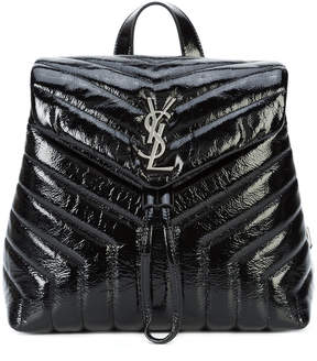 Saint Laurent Loulou backpack - BLACK - STYLE