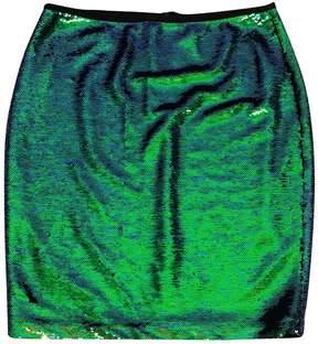 Shoshanna Iridescent Sequin Skirt