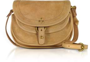 Jerome Dreyfuss Felix Suede Mini Shoulder Bag