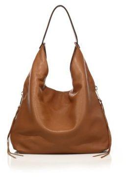 Rebecca Minkoff Bryn Double-Zip Leather Hobo Bag