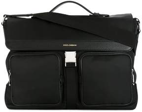 Dolce & Gabbana pocket laptop bag