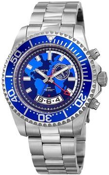 Akribos XXIV Blue Dial Muti-Function Men's Watch