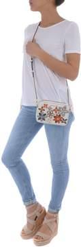 Michael Kors Flower Media Shoulder Bag - BIANCO/MULTICOLOR - STYLE