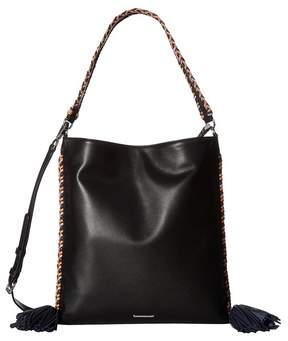 Rebecca Minkoff Chase Convertible Hobo Hobo Handbags - BLACK MULTI - STYLE