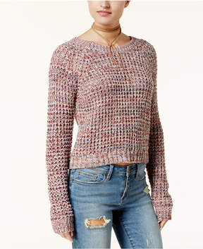 American Rag Juniors' Keyhole-Back Sweater, Created for Macy's