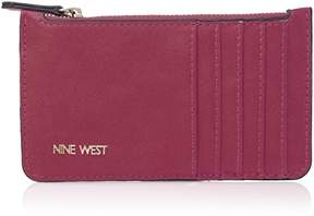 Nine West Zip Card Case