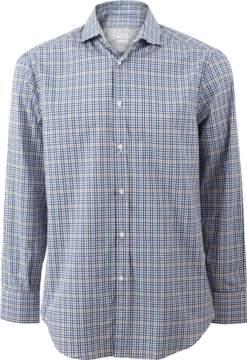 Brunello Cucinelli Popline Checkered Shirt