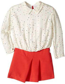 Paul Smith Hearts Blouse w/ Fitted Bottom Dress Girl's Dress