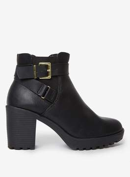 Dorothy Perkins Black 'Mindy' Heeled Ankle Boots