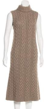 Barneys New York Barney's New York Cable Knit Sweater Dress