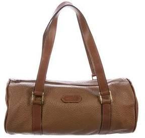 Lanvin Textured Leather Handle Bag