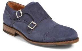 Aquatalia Men's 'Fallon' Weatherproof Monk Strap Shoe