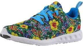 Puma Women's Carson Runner Hibiscus Floral Blue Atoll / White Ankle-High Fabric Running Shoe - 7M