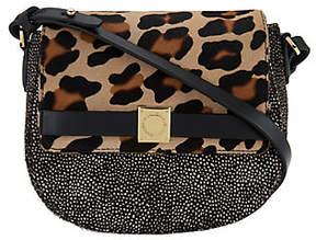 Isaac Mizrahi Live! Special Edition Hair CalfSaddle Handbag