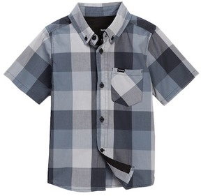 Hurley Surfers Only Short Sleeve Shirt (Little Boys)