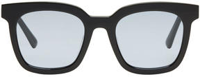 Gentle Monster Black and Blue Finn Sunglasses