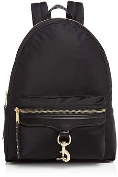 Rebecca Minkoff Always On MAB Backpack - BLACK/GOLD - STYLE