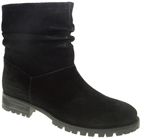 Chinese Laundry Black Flip Suede Ankle Boot