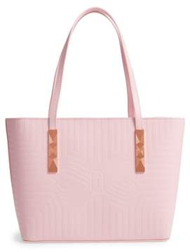 Ted Baker Bow Embossed Leather Shopper